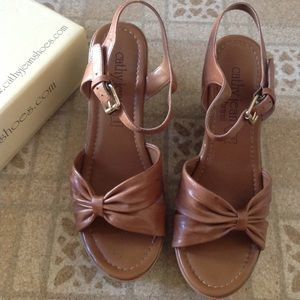 Cathy Jean Wedge Sandals 9